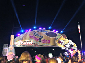 runDisney Wine and Dine Half Marathon Starting Line