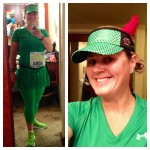 Running as Peter Pan for Tinker Bell Half Marathon