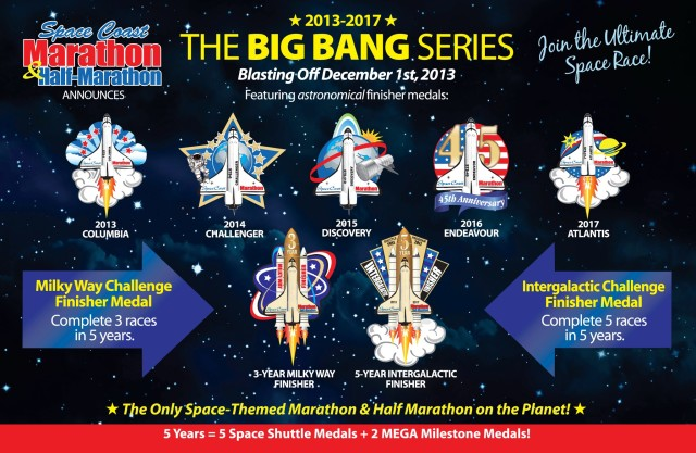 Space Coast Marathon Big Bang Series