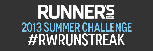 Runner's World Run Streak #RWRunStreak