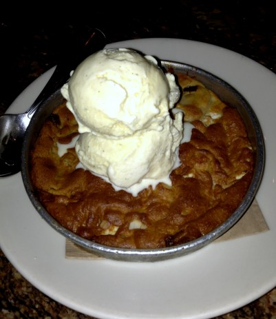 Pizookie from BJ's Pizza