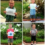 Kindergarten Through Third Grade, 1st Day of School