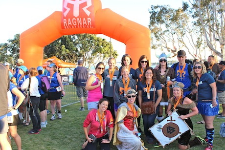 Finish Line, Ragnar SoCal 2013
