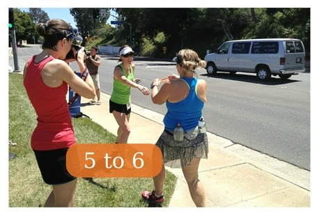 Ragnar Relay SoCal Exchange #5 to #6