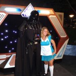 Darth Vader and Alice in Wonderland