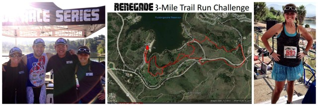 Renegade 3-Mile Trail Run Challenge