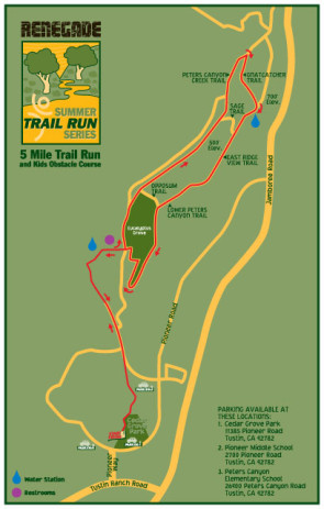 Renegade Racing Summer Trail Series Course